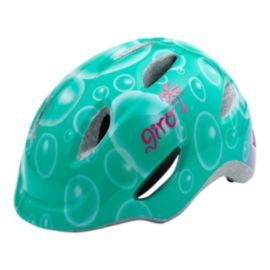 Giro Scamp Turquoise Bubbles Junior Helmet