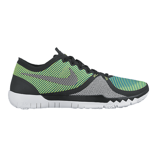 0106ecf2a5f05 Nike Men s Free Trainer 3.0 V4 Training Shoes - Green White