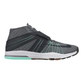 Nike Men's Zoom Train Toronado Training Shoes - Grey/Teal
