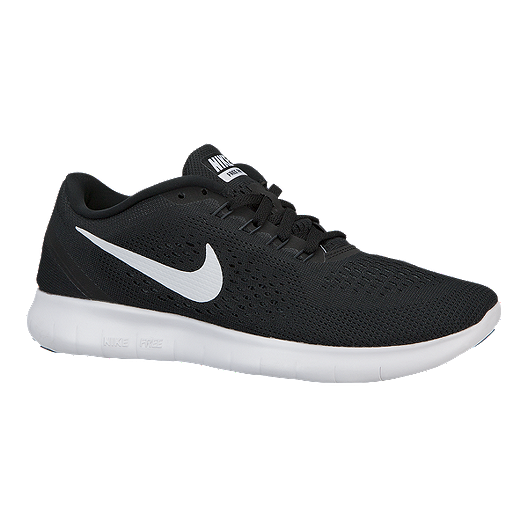 f9890846f3f4 Nike Women s Free RN 2016 Running Shoes - Black White
