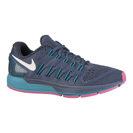 size 40 78b3e b1b30 Nike Women s Air Zoom Odyssey Running Shoes - Grey Blue Pink   Sport Chek