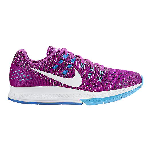 brand new fb0af 60425 Nike Women s Air Zoom Structure 19 Running Shoes - Purple White   Sport Chek