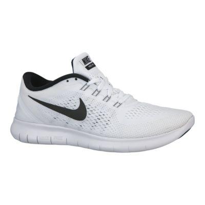 nike men s free rn 2016 running shoes white black sport chek rh sportchek ca