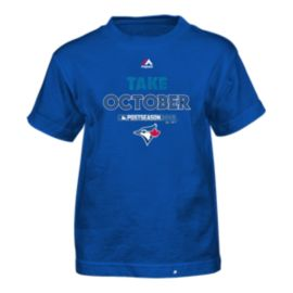 Toronto Blue Jays Little Kids' Authentic Collection Playoffs 2015 Participant T Shirt