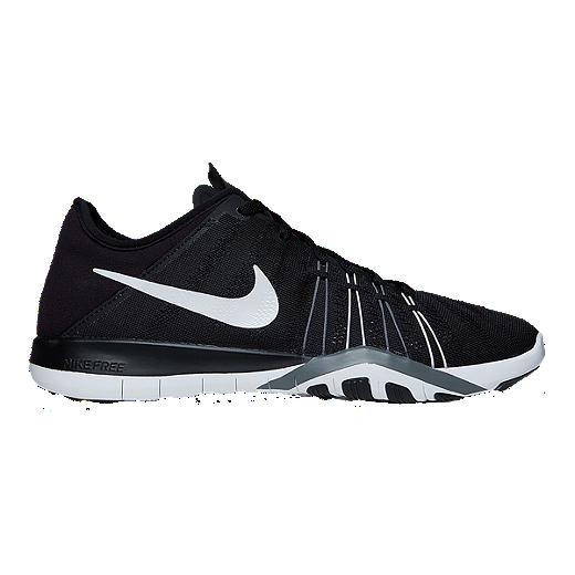 online retailer 220a5 1104a ... ireland nike womens free tr 6 training shoes black white 1e995 c9e86