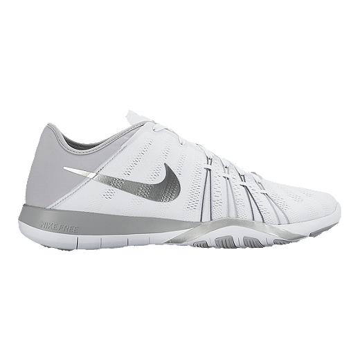 d7a777db3586 ... good nike womens free tr 6 training shoes white silver 14ce7 115e8