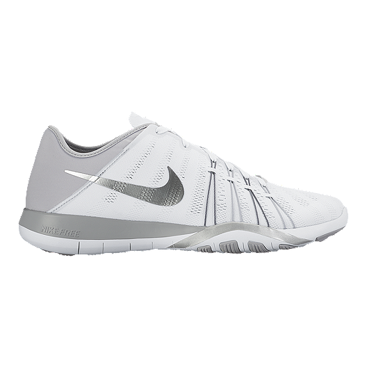 buy popular 5b875 754a1 Nike Women s Free TR 6 Training Shoes - White Silver   Sport Chek