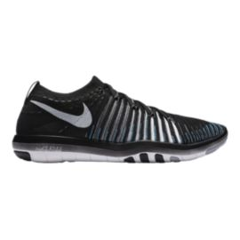 Nike Women's Free Transform FlyKnit Training Shoes - Black/White