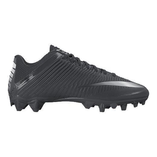 0de58bd5f Nike Men s Vapor Speed 2 TD Football Cleats - Black Silver