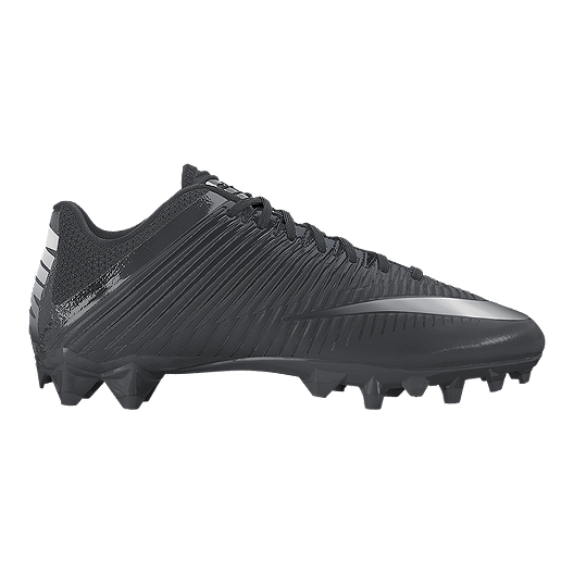 9e95636a2 Nike Men's Vapor Speed 2 TD Football Cleats - Black/Silver | Sport Chek