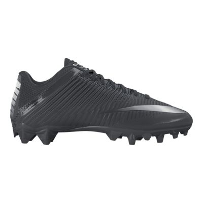 Nike Men's Vapor Speed 2 TD Football Cleats - Black/Silver