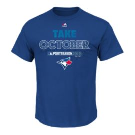 Toronto Blue Jays Authentic Collection Playoffs 2015 Participant Tee