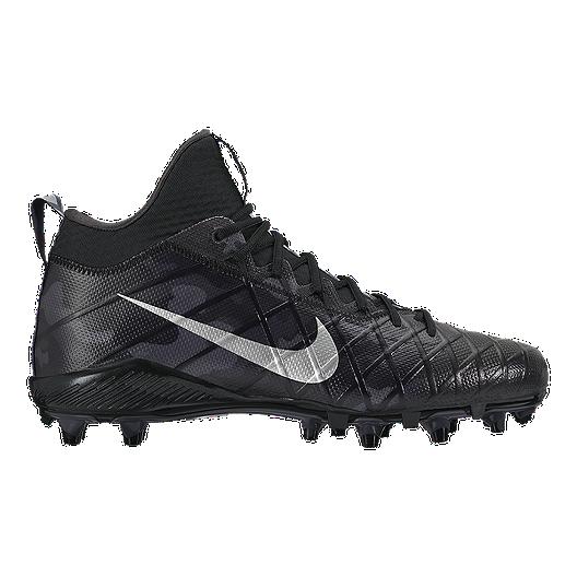 f40aeef52 Nike Men s Field General 3 Elite TD Mid Football Cleats - Black Silver