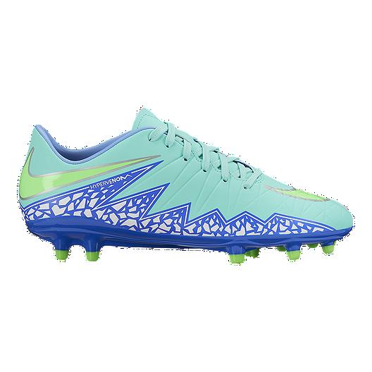 dbab6a95e Nike Women's HyperVenom Phelon II FG Outdoor Soccer Cleats - Mint  Blue/Green | Sport Chek
