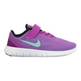 Nike Free Run Girls' Pre-School Running Shoes