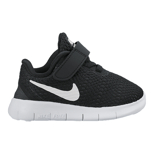release date efe1a ea24a Nike Toddler Free Run Running Shoes - Black/Silver ...