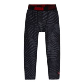 Nike Jordan Kids' Printed Compression 3/4 Length Tights