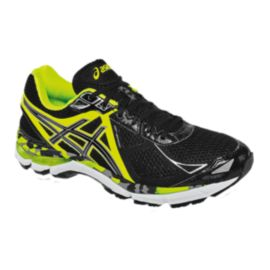 ASICS Men's GT-2000 3 Running Shoes - Black/Yellow