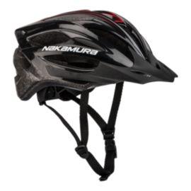 Nakamura Speed 1 Bike Helmet - Black/Red