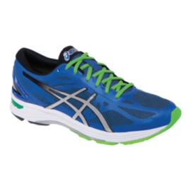 ASICS Men's Gel DS Trainer 20 Running Shoes - Blue/Green/Silver