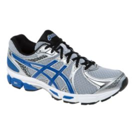 ASICS Men's Gel Exalt 2 Running Shoes - Silver/Blue