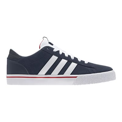 adidas Men\u0027s Daily ST Skate Shoes - Navy/White