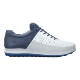ECCO Men's Biom Hybrid 2 Golf Shoes - Blue/White
