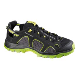 Salomon Men's Tech Amphibian 3 Water Shoes - Black/Green