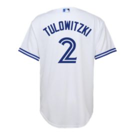 Toronto Blue Jays Kids' Troy Tulowitzki Replica Player Authentic Baseball Jersey