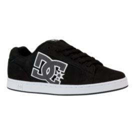 DC Men's Serial Graffik SE Skate Shoes - Black/White