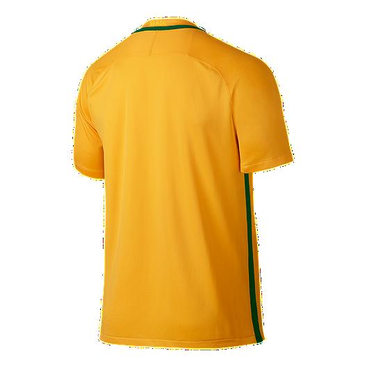 c95497671 Brazil Home Soccer Jersey - Yellow