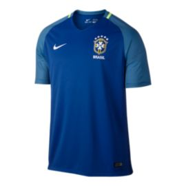Brazil Away Soccer Jersey - Royal