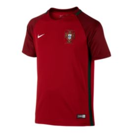 Portugal Kids' Home Youth Soccer Jersey