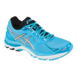 ASICS Women's GT-2000 3 Running Shoes - Light Blue/Black