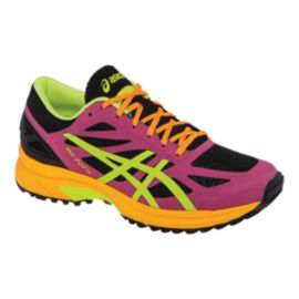 ASICS Women's Gel FujiPro Running Shoes - Pink/Orange/Lime Green