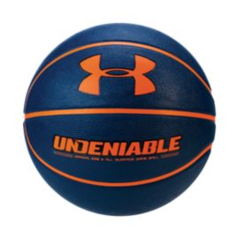 Under Armour Undeniable Basketball - Navy/Orange