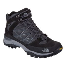 The North Face Men's Storm Mid Waterproof Hiking Shoes - Black/Griffin Grey