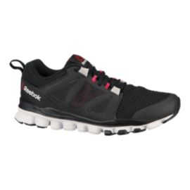 e7283de39fb7ca Reebok Women s Hexaffect Run 3.0 Running Shoes - Black Pink White ...