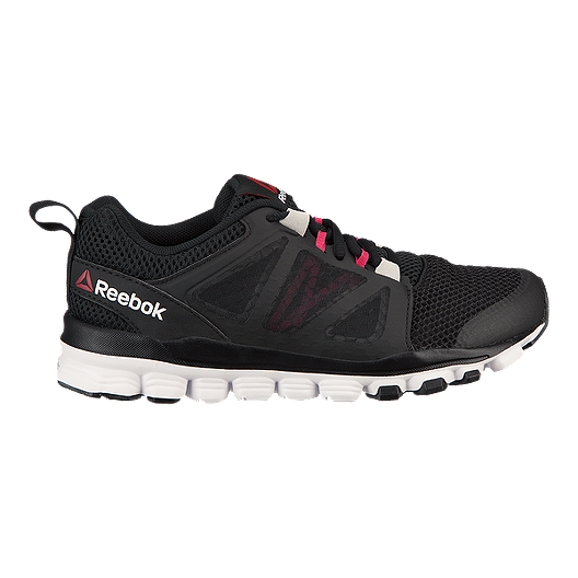 4ab1f4cf9 Reebok Women s Hexaffect Run 3.0 Running Shoes - Black Pink White ...