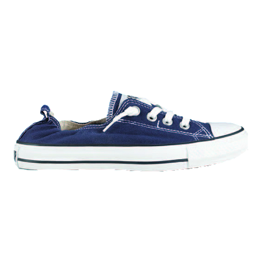 3a879e5ac6d4 Converse Women s Chuck Taylor Shoreline Shoes - Navy