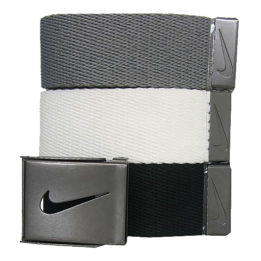 772274cb Nike Golf Web Men's Belt-3-Pack