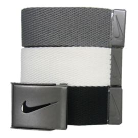 Nike Golf Web Men's Belt-3-Pack
