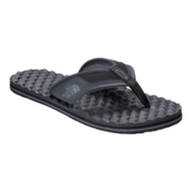 The North Face Men's Base Camp Plus Flip-Flop Sandals - Black/Grey