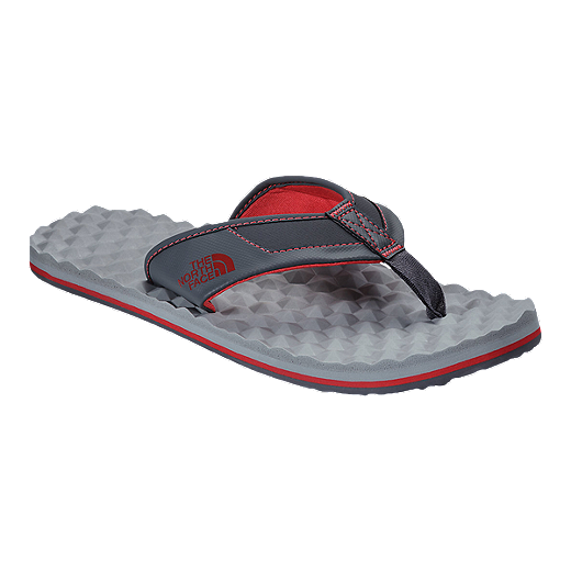 a39447b70f72 The North Face Men's Base Camp Plus Flip-Flop Sandals - Grey/Red   Sport  Chek