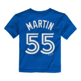 Toronto Blue Jays Toddler Russell Martin Player T Shirt