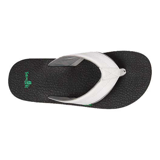 a672856615318b Sanuk Men s Beer Cozy 2 Sandals - White Black