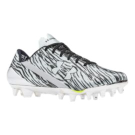 Under Armour Men's Spotlight Low Football Cleats - White/Black Camo