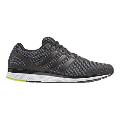 adidas Men\u0027s Mana Bounce Running Shoes - Grey/Black