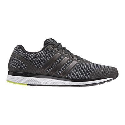 adidas Men\u0027s Mana Bounce Running Shoes - Grey/Black