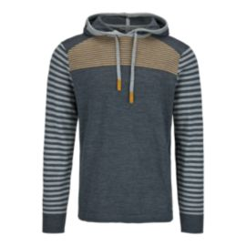 Smartwool Kiva Ridge Striped Men's Pullover Hoodie